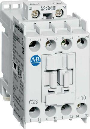 3 POLE CONTACTOR 1NO AUX 24VDC COIL 72A product photo Front View L
