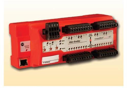 ETHERNET SAFETY 16 WAY I/P MODULE product photo Front View L