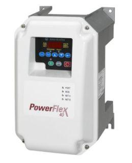 POWERFLEX 40- 0.75 KW (1 HP) AC DRIVE product photo Front View L