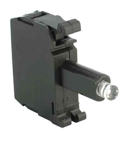 INT LED LATCH MOUNT 24V AC/DC WHITE product photo Front View L