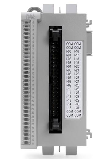 INPUT MODULE, DIGITAL, 32 POINT, 12/24VD product photo Front View L