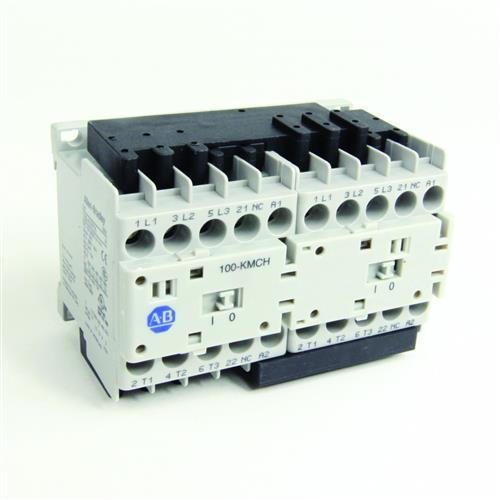 IEC MINIATURE REVERSING CONTACTOR product photo Front View L
