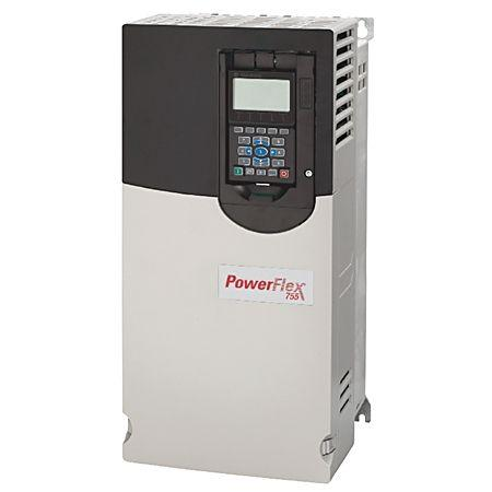 PowerFlex Air Cooled 755 AC Drive product photo Front View L