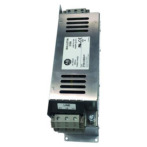 KINETIX 5500 8A LINE FILTER,3PH EMC product photo Front View L