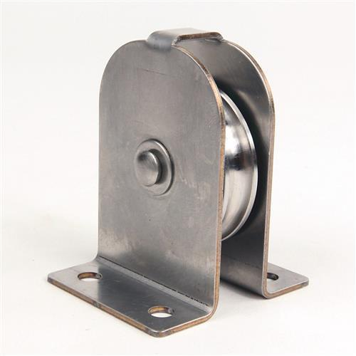 STAINLESS STEEL OUTSIDE CORNER PULLEY product photo Front View L