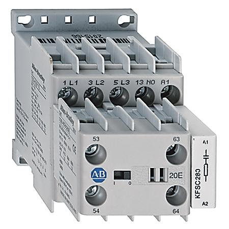IEC 5 A MINIATURE CONTACTOR product photo Front View L