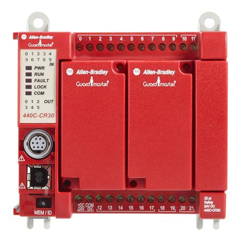 SOFTWARE CONFIGURED SAFETY RELAY PLE SIL product photo Front View L
