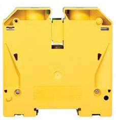 GROUND TERMINAL BLOCK 120MM GREEN/YELLOW product photo