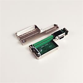 CONN,AUX FEEDBK,D-SHELL/TERM BLOCK,15PIN product photo