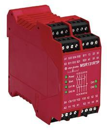 SAFETY RELAY,MSR131RTP,24VAC/DC,AUTO/MAN product photo
