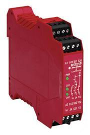 SAFETY RELAY,MSR35H,24V DC,FIXED product photo