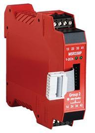 MSR330P GROUP 2 SAFETY RELAY 1NC CAT4 RA product photo