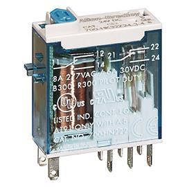 SLIM LINE RELAY 1C/O 16A (24VDC)+LAMP product photo