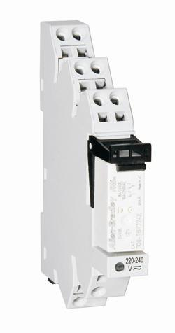 TERMINAL BLOCK RELAY 24VDC DOUBLE POLE product photo