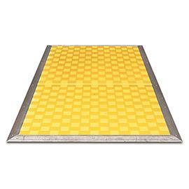 SAFETY MAT YELLOW 1000MM X 1250MM BY CAB product photo