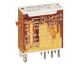 SLIM LINE RELAY 1C/O 10A (240VAC) product photo